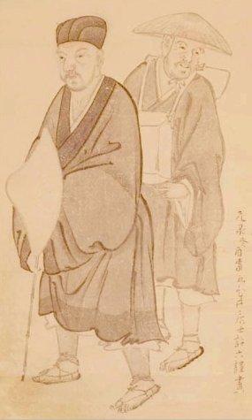 Basho_by_Morikawa_Kyoriku_(1656-1715)