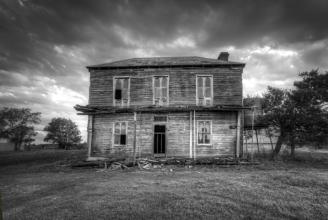Scary farmhouse